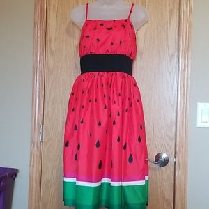 Sucrefas Watermelon Sun Dress